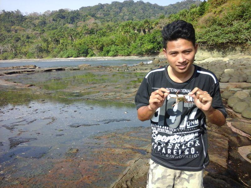 Indahnya Pantai Nanggelan di Jember Jawa Timur