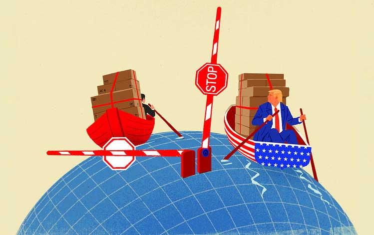 perang dagang amerika china